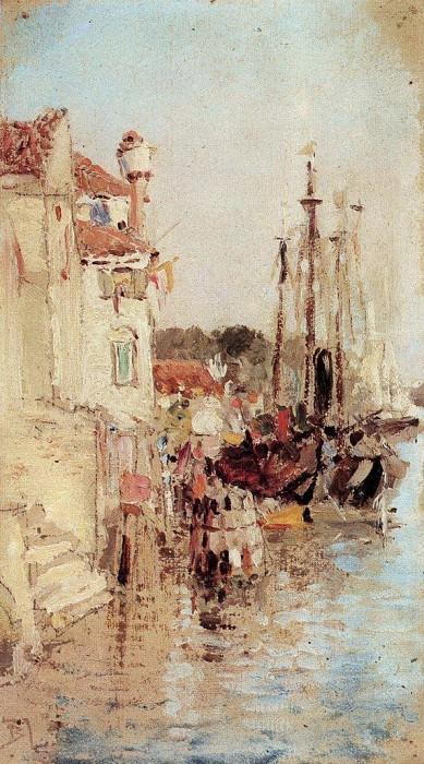 Венеция. Каналы. 1890-е. Vasily Polenov
