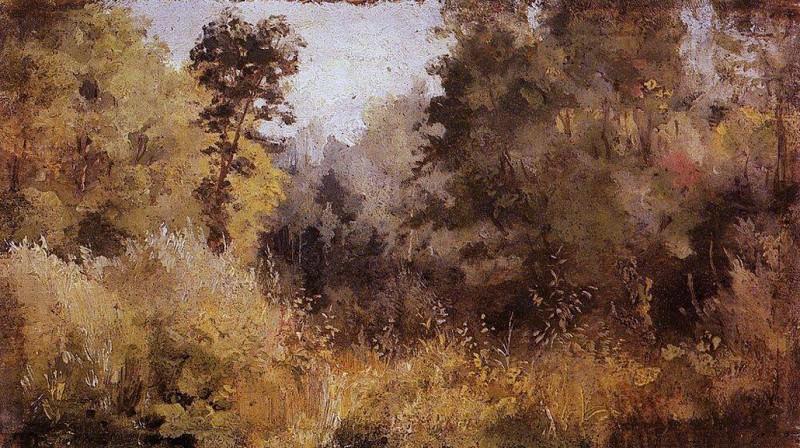 Парк в Ольшанке. 1877. Vasily Polenov