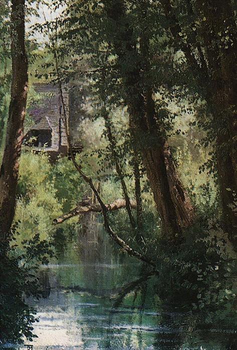 Пруд в Вёле. 1874. Василий Дмитриевич Поленов