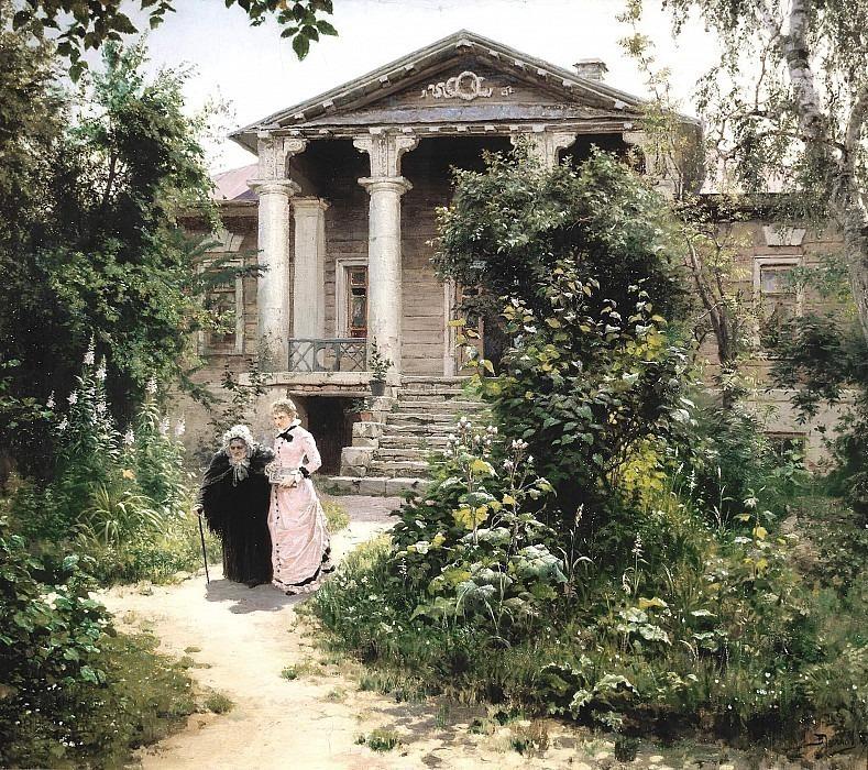 Бабушкин сад. Василий Дмитриевич Поленов