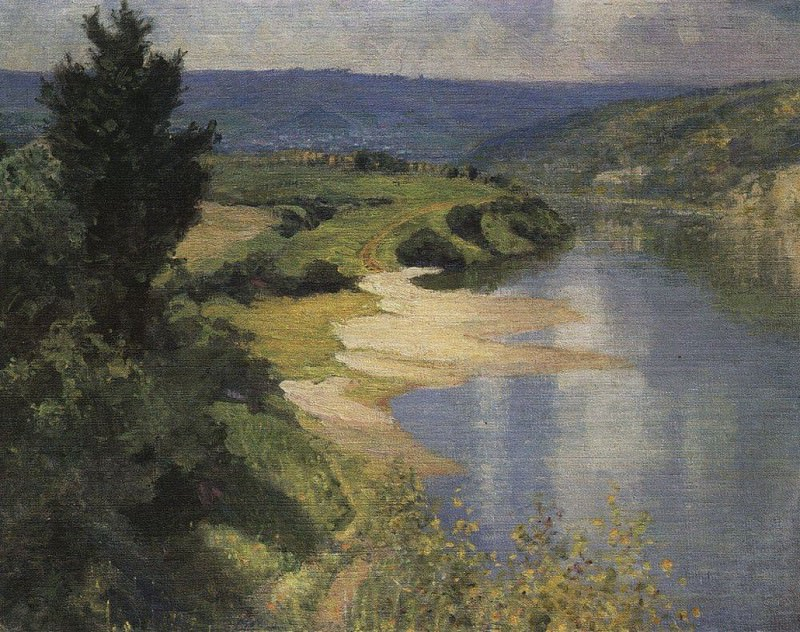 Ока летом. Vasily Polenov