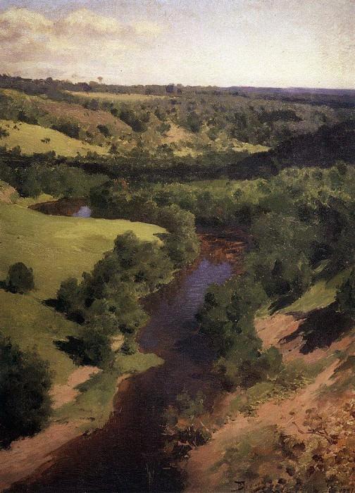Река Воря. 1881. Vasily Polenov
