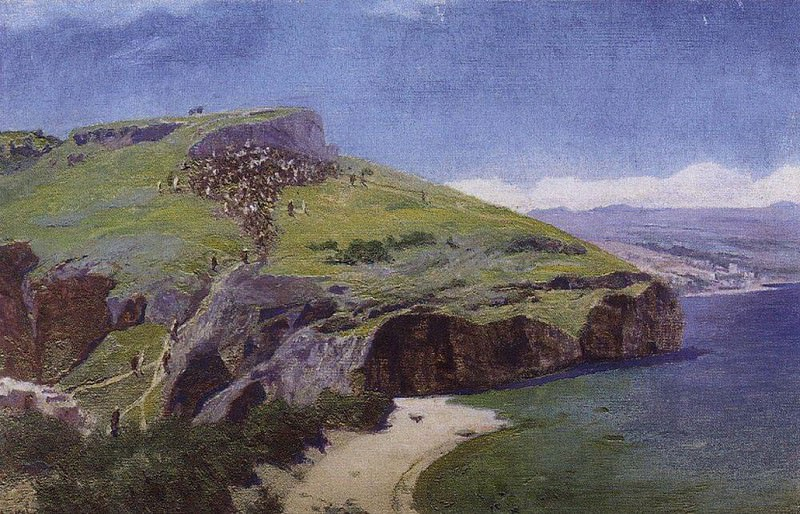Палестинский пейзаж. 1880-е. Vasily Polenov
