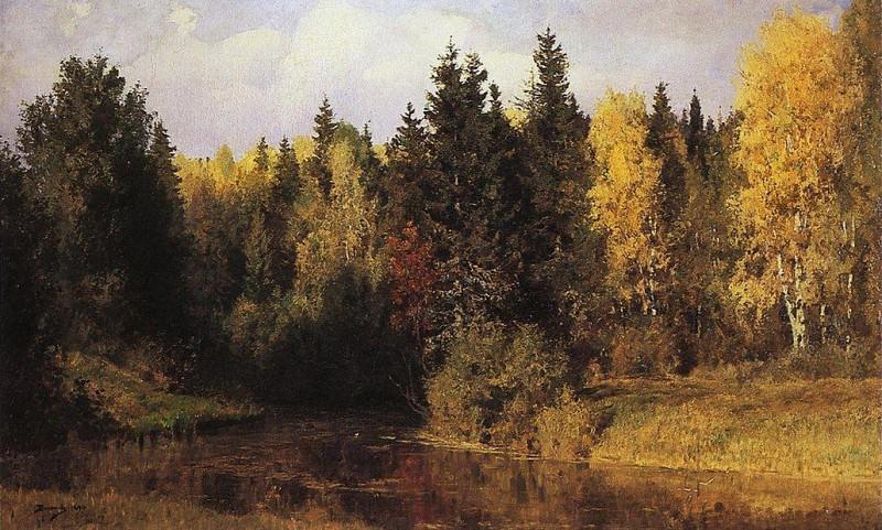 Осень в Абрамцеве. 1890. Василий Дмитриевич Поленов