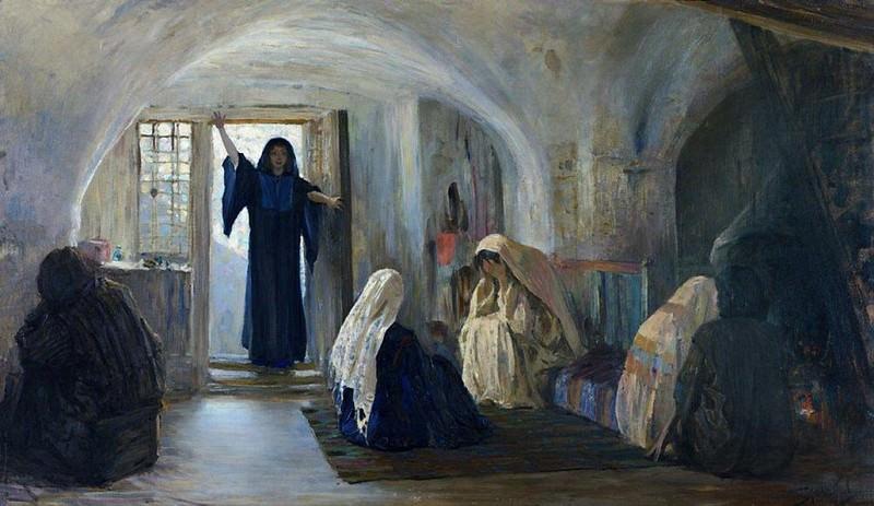 Возвестила радость плачущим. 1899-1909. Василий Дмитриевич Поленов