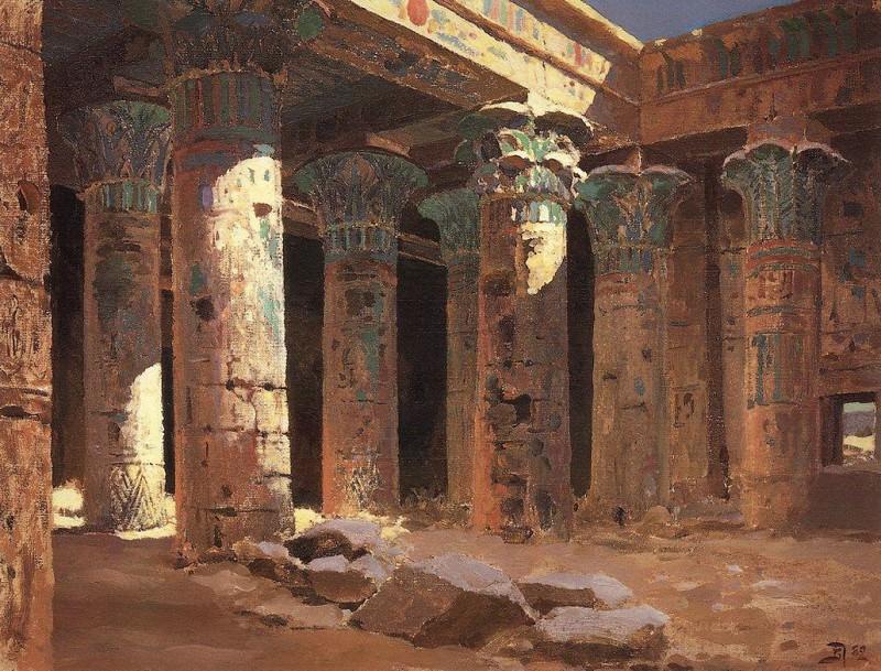 Храм Изиды на острове Филе. 1882. Vasily Polenov