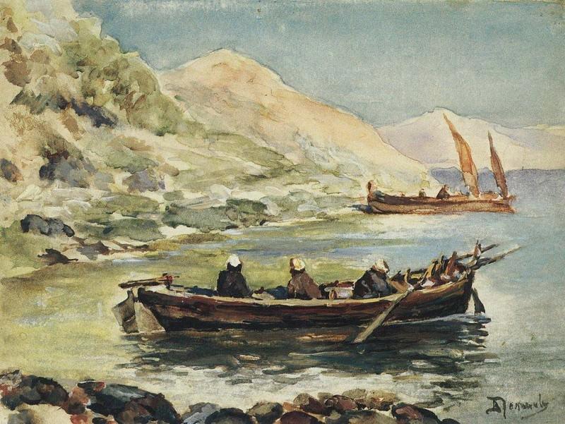 Иоанн и Иаков. 1900-е. Василий Дмитриевич Поленов