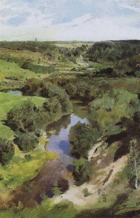 Воря. 1882. Vasily Polenov