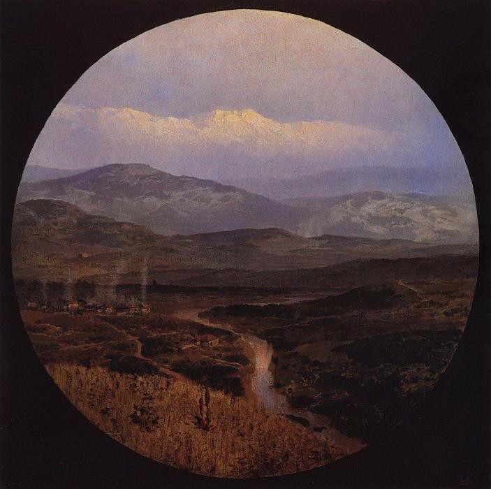 Долина реки в Болгарии. 1883. Vasily Polenov