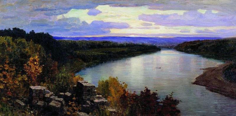 Ока. Вечер. 1903. Vasily Polenov