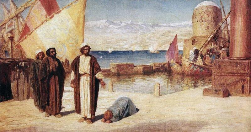 Пределы Тирские. 1911. Vasily Polenov