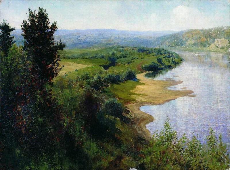 Река. 1899. Vasily Polenov