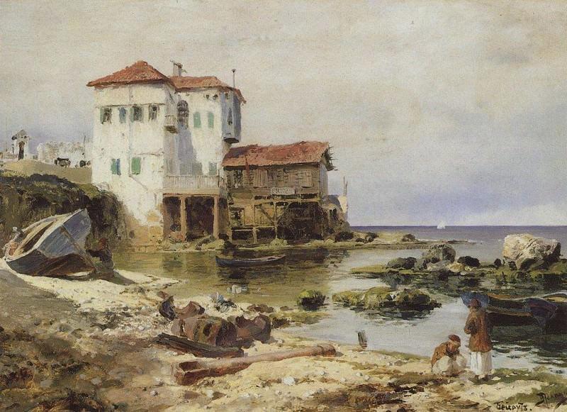 Бейрут 2. 1882. Vasily Polenov