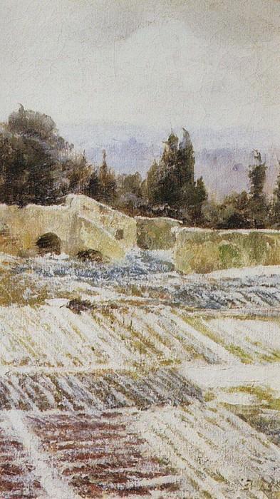 Зима в Риме. 1872. Vasily Polenov