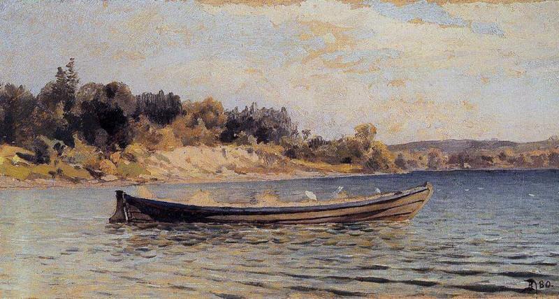 Лодка. 1880. Vasily Polenov