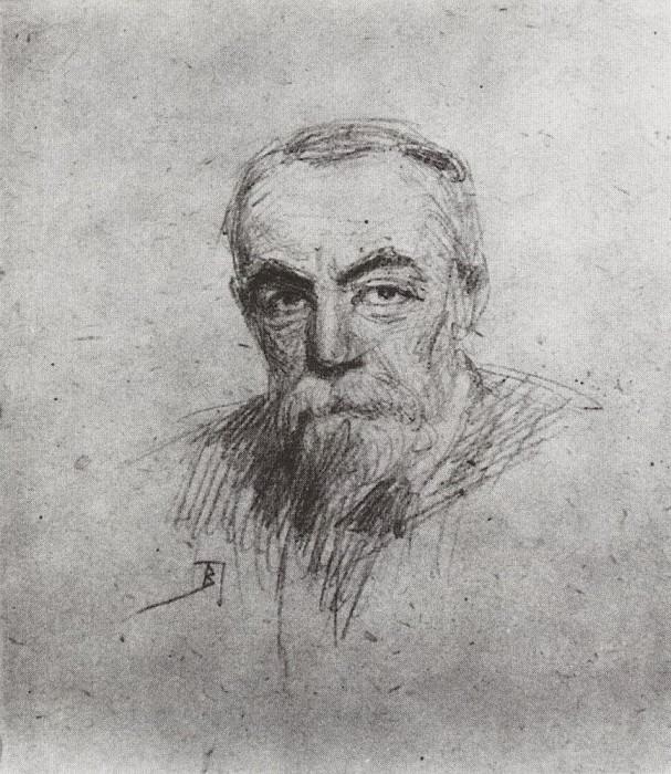 Автопортрет. Начало 1900-х. Василий Дмитриевич Поленов