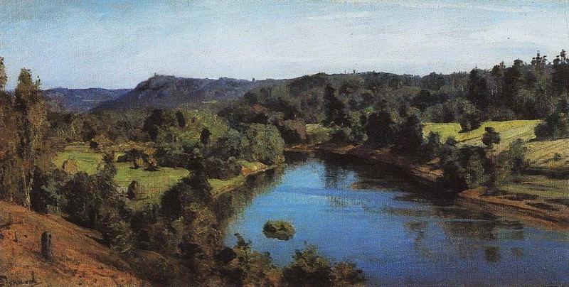 Река Оять. 1880. Vasily Polenov