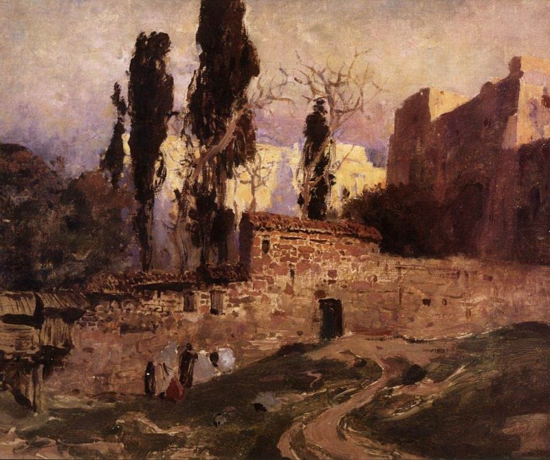 Константинополь. 1882. Василий Дмитриевич Поленов