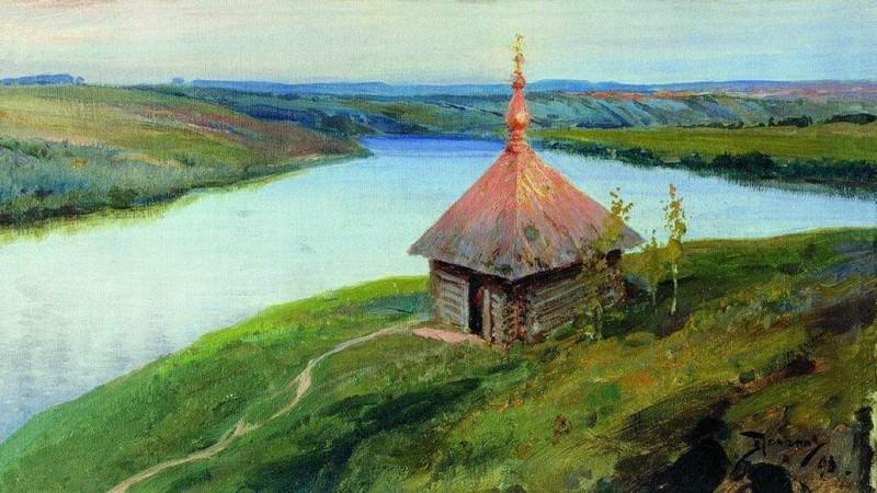 Часовня на берегу Оки. 1893. Vasily Polenov