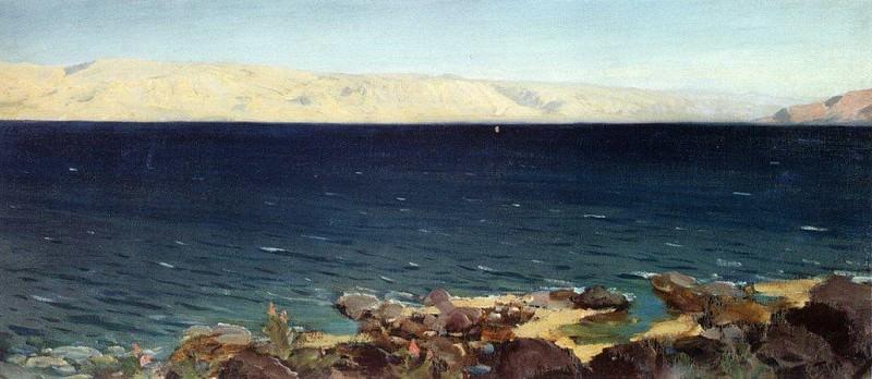 Тивериадское (Генисаретское) озеро 2. 1882-1882. Vasily Polenov