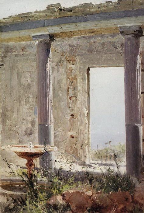 Развалины дворца в Палестине. 1882. Vasily Polenov