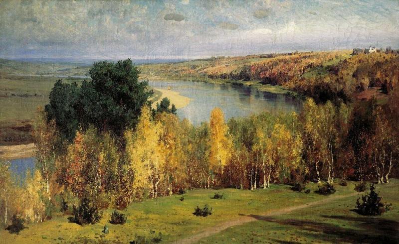 Золотая осень. 1893. Vasily Polenov