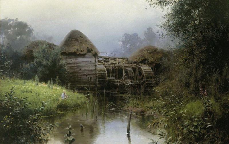Старая мельница. 1880. Василий Дмитриевич Поленов