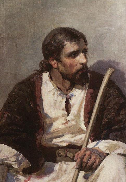 Христос. 1887. Vasily Polenov