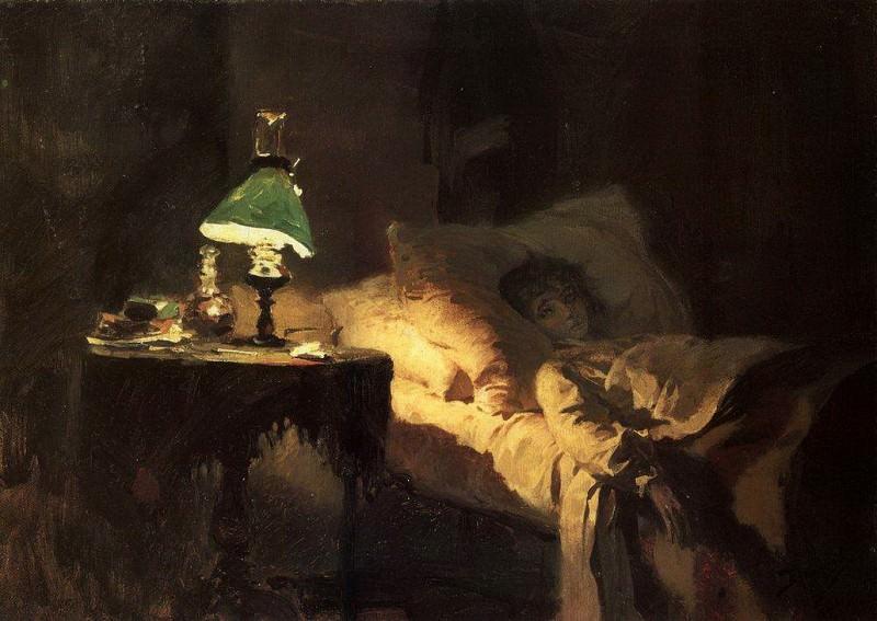 Больная 1. 1886. Василий Дмитриевич Поленов