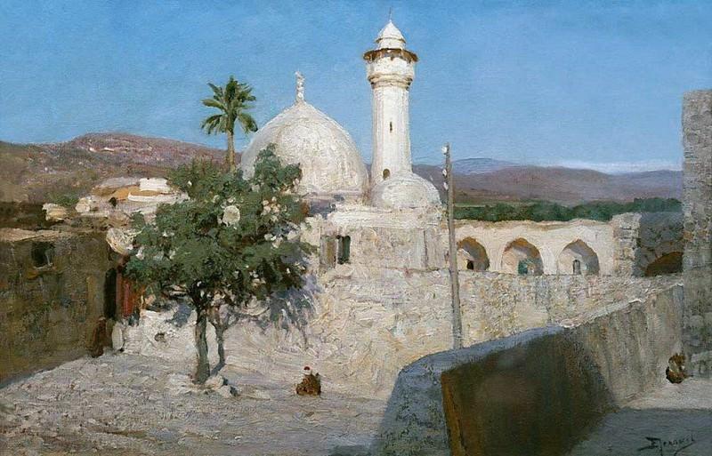 Мечеть в Дженине. 1903. Vasily Polenov