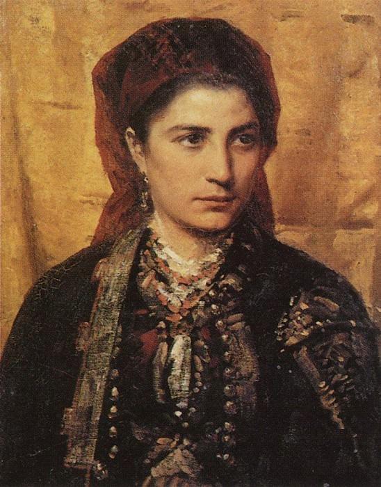 Черногорка. 1874. Василий Дмитриевич Поленов