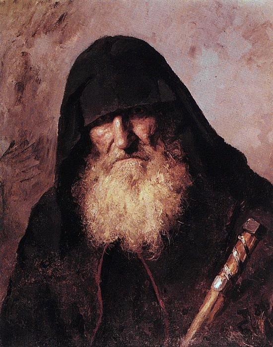 Палестинский монах. 1886. Vasily Polenov