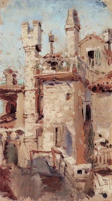 Венеция. Трубы. 1890-е. Vasily Polenov