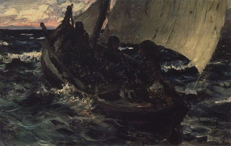 Барка. 1874-1887. Василий Дмитриевич Поленов
