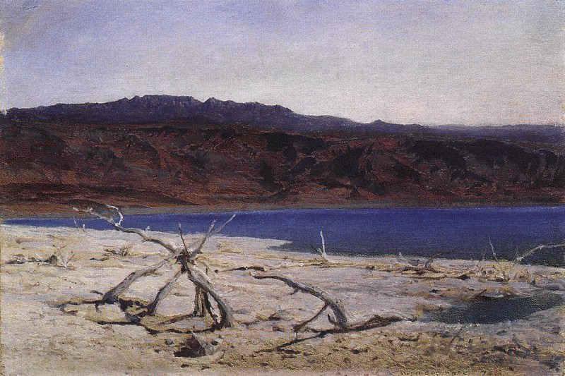 Мертвое море. 1882. Vasily Polenov