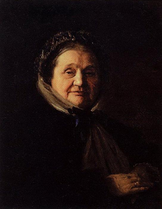Портет В.Н.Воейковой, бабушки художника. 1867. Василий Дмитриевич Поленов