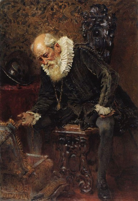 Miserly Knight. Konstantin Makovsky