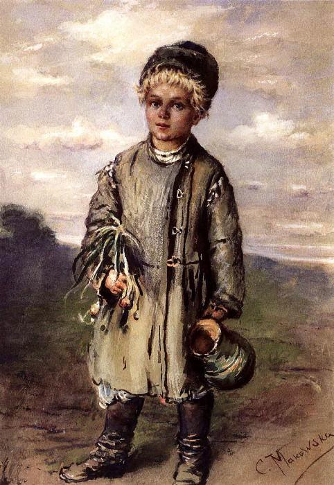 Крестьянский мальчик. Константин Егорович Маковский