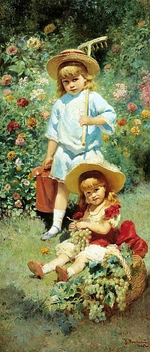 Artist Children. Konstantin Makovsky