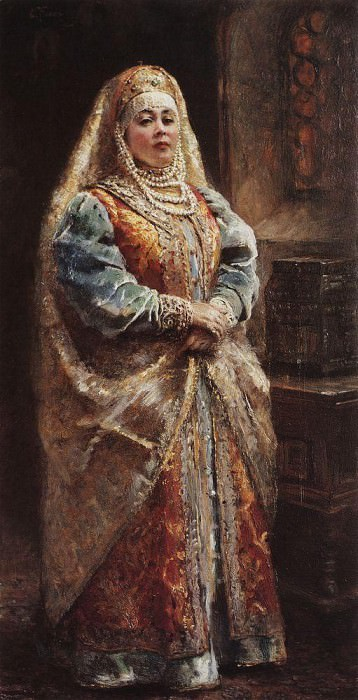 Portrait 118. Konstantin Makovsky