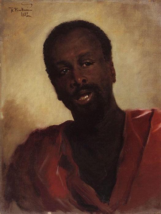 African. Konstantin Makovsky