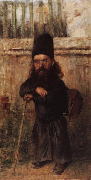 Monk - Collector for the Temple. Konstantin Makovsky
