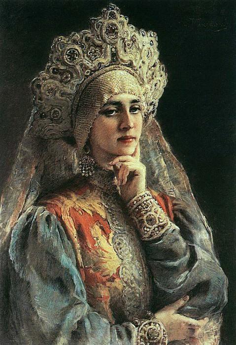 Russian Beauty. Konstantin Makovsky