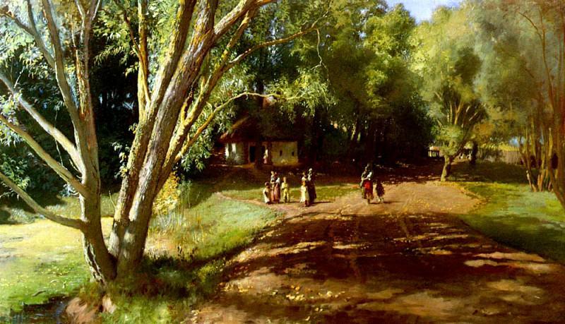 Makowsky Constantнn Jegorovнch Summer Afternoon. Konstantin Makovsky