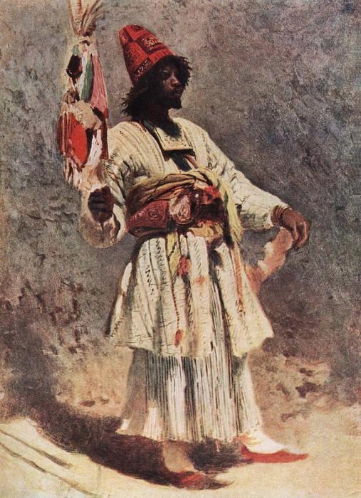 Dervish. Konstantin Makovsky