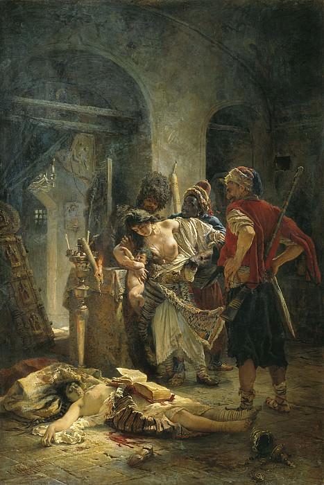 Bulgarian martyrs. Konstantin Makovsky