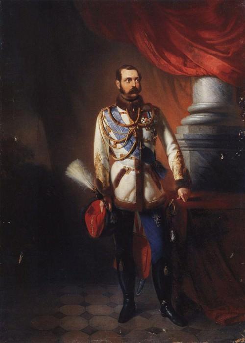 Александр II. Константин Егорович Маковский