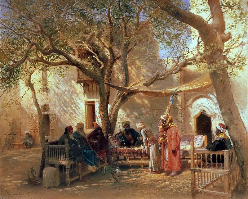 Derwische in Kairo. Konstantin Makovsky