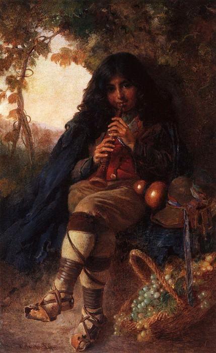 Italian boy. Konstantin Makovsky