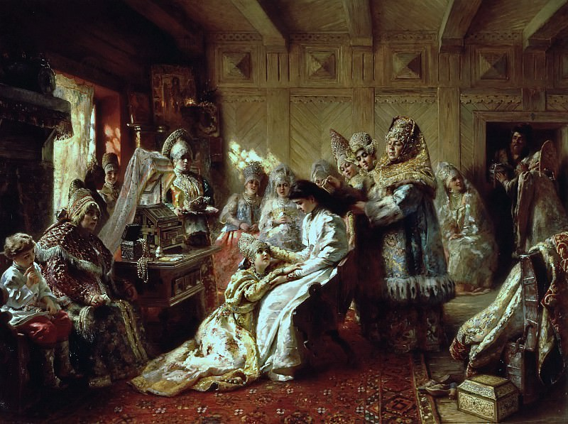 Wedding. Konstantin Makovsky